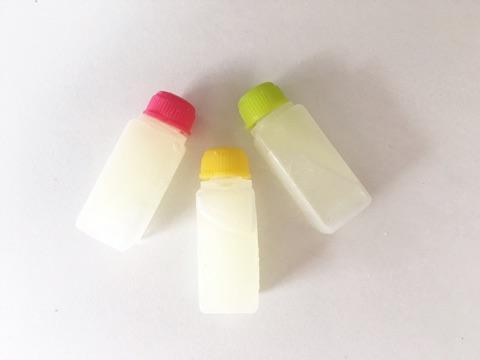 豆乳ローションを保存する小さい容器タレビン